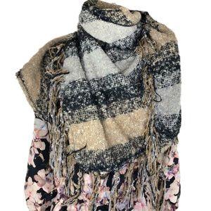Alpaca Wool Blanket Scarf XL